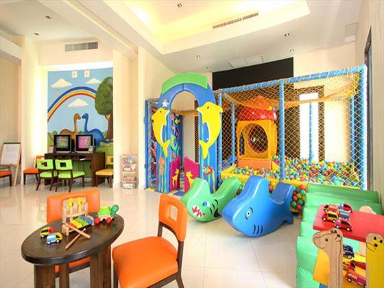 Kids club playroom at The Vijitt Resort