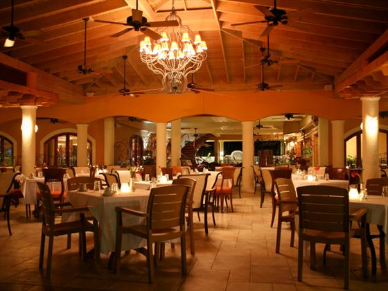 La Bella Vita restaurant at Sunset Beach Resort and Waterpark