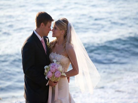 Cliffside wedding at La Jolla