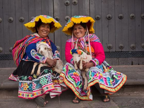Ladies in Cusco