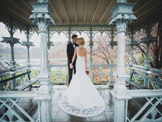 Ladies Pavilion, a favourite wedding venue in Central Park