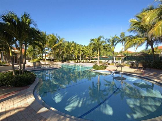 Lagoon pool at Westin Cape Coral