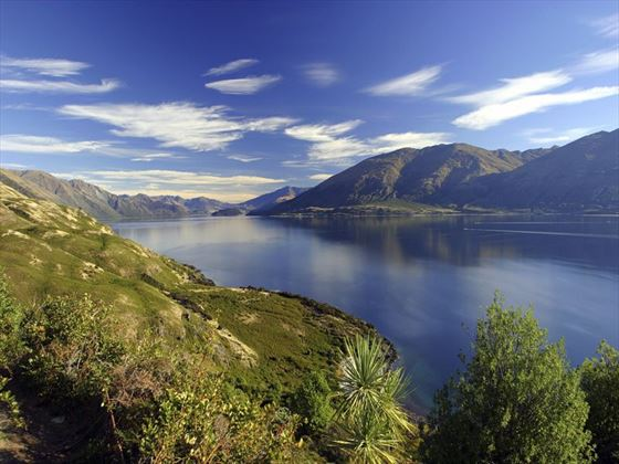 Lake Wanaka scenery