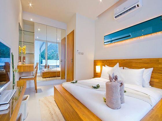 Lanna Samui double bedroom