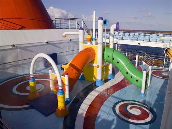 Lido Deck Splash Park