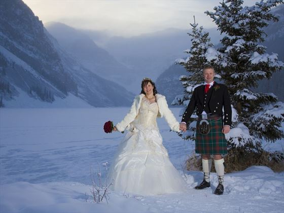 Winter wedding spectacular