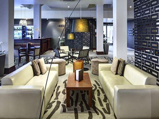 Lobby bar at Heritage Auckland