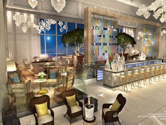 Lobby bar at Moon Palace Jamaica Grande (Artist's Impression)