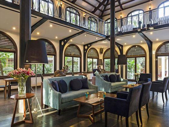 Lobby at Heritage Suites, Siem Reap