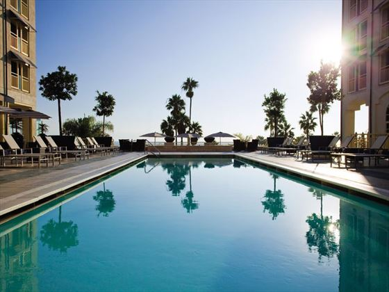 Loews Santa Monica pool
