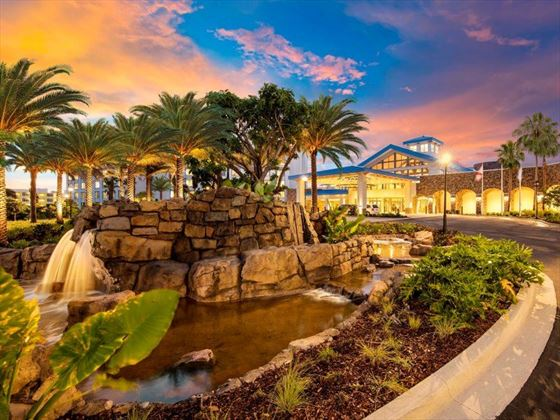 Loews Sapphire Falls front entry