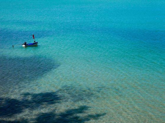 Longtail boat in Khanom