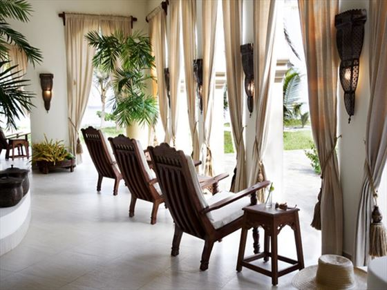 Lounge area at Baraza Resort & Spa