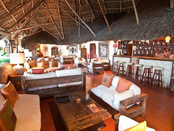 Lounge area at Ras Nungwi