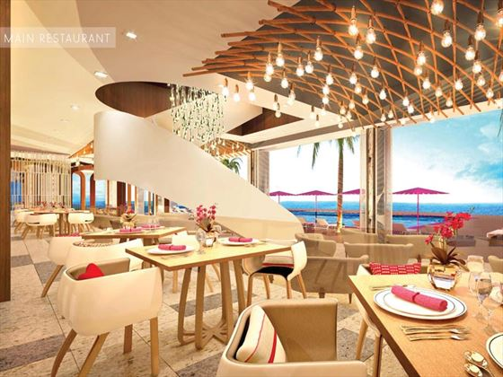 Restaurant interior - artist's impression