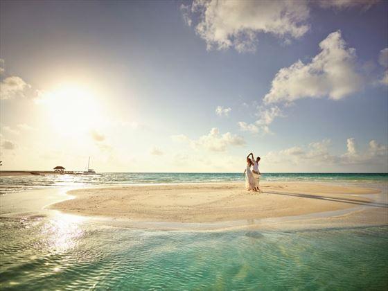 Romanice in the Maldives at LUX* South Ari Atoll