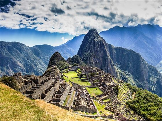 Incredible Machu Picchu view