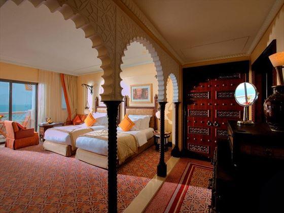 Jumeirah Al Qasr - Ocean Deluxe twin room