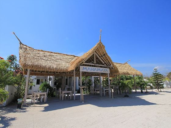 Restaurant at MAHAMAYA Boutique Resort, Gili Meno