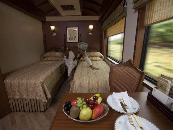 Junior Suite room on the Maharajas' Express