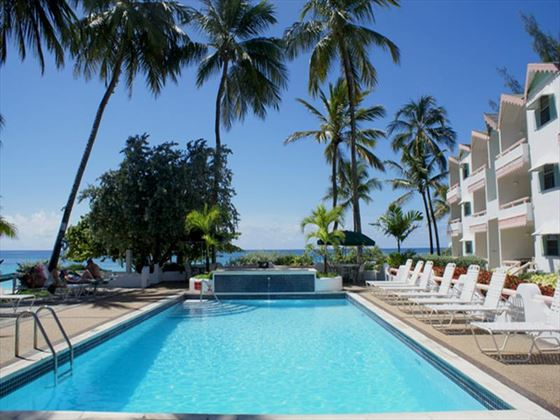 Main swimming pool at Bougainvillea Beach Resort