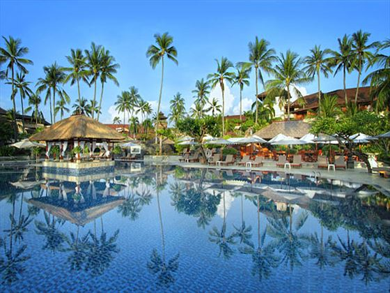 Main swimming pool at Nusa Dua Beach Hotel