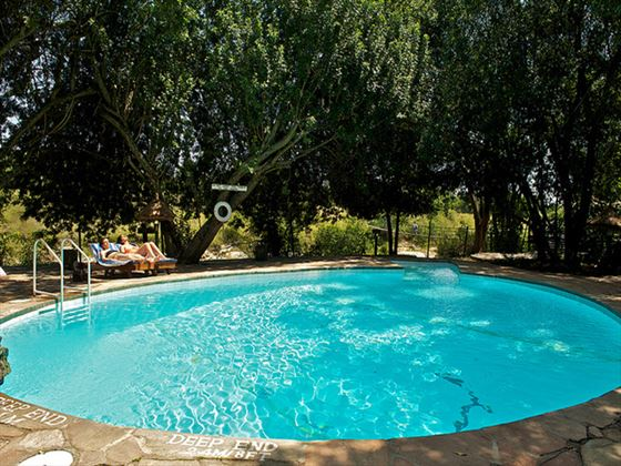 Mara Intrepids swimming pool