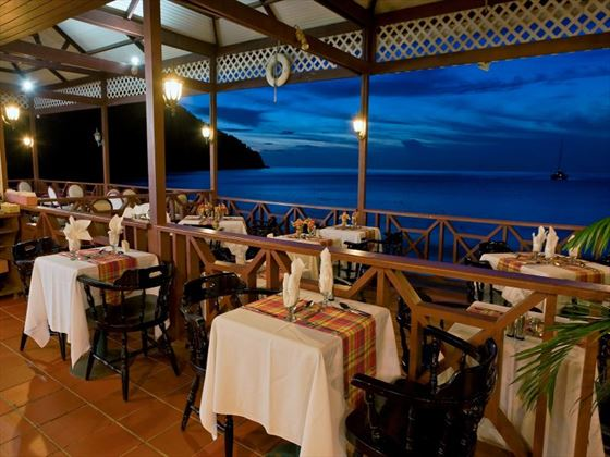 Mariners restaurant at St Lucian by Rex Resorts