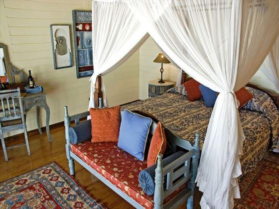 Medjumbe Private Island bedroom