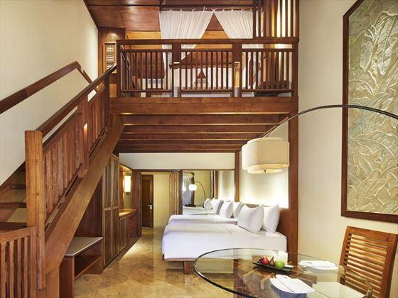 Family Room Duplex at Melia Bali