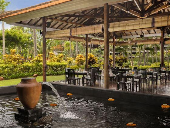 Lotus Garden Restaurant at Melia Bali