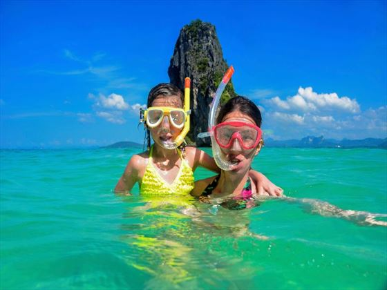 Family fun in Thailand