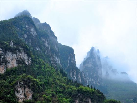 Mountain scenery near Yichang