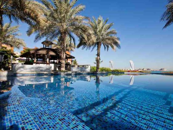Movenpick Jumeirah Lake Towers pool area