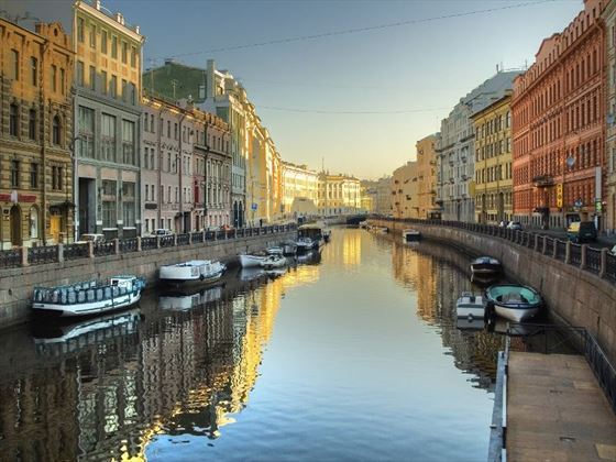 Moyka River in St Petersburg