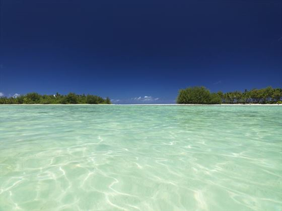 Muri Beach on Rarotonga, Cook Islands