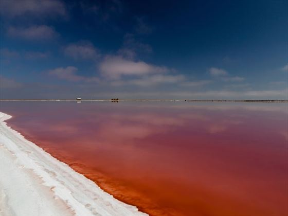 Namibian red lake