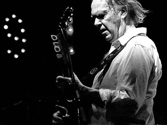 Canadian music legend, Neil Young
