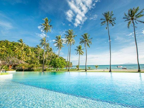 New pool at Phi Phi Island Village Beach and Resort