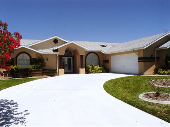 Exterior view of New Port Richey Homes