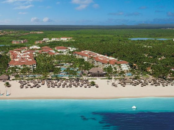 Now Larimar Punta Cana aerial view