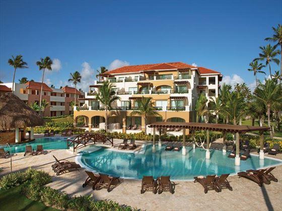 Now Larimar Punta Cana Resort Preferred Club pool
