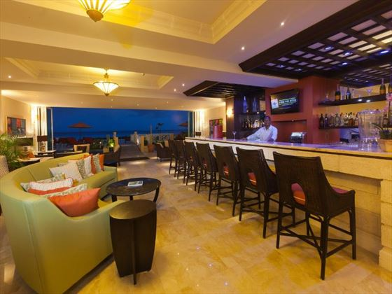 Oasis lounge and bar at Ocean Two Resort & Residences