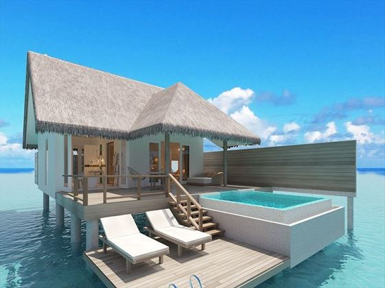 Ocean Suite with Pool exterior