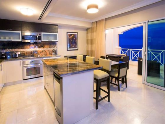 Ocean Two Resort & Residences Two-bedroom Penthouse kitchen
