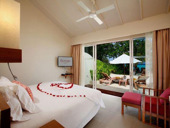 Oceanfront Beach Villa at Centara Ras Fushi Resort & Spa