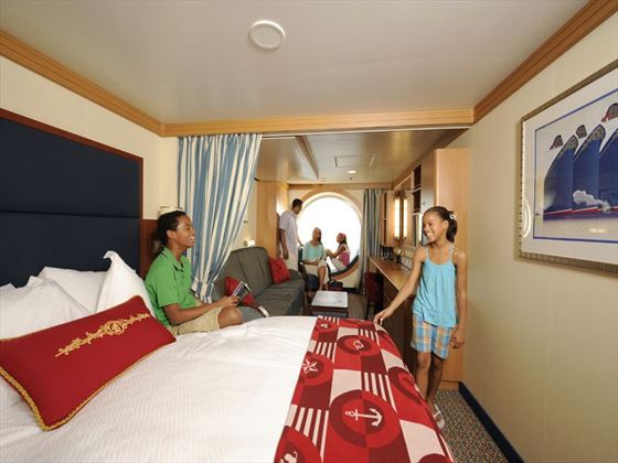 Disney Dream Oceanview Stateroom