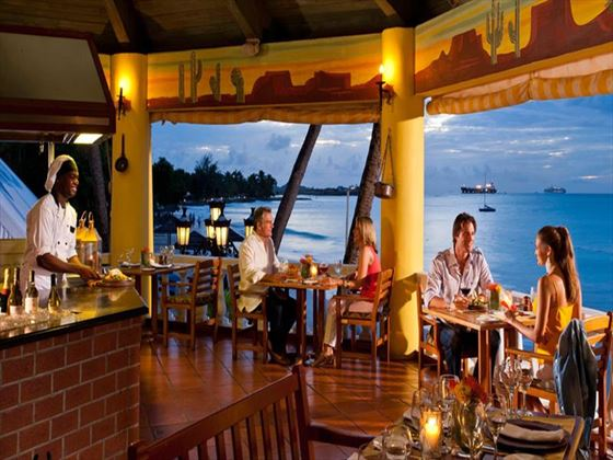 OK Corral restaurant at Sandals Grande Antigua Resort & Spa