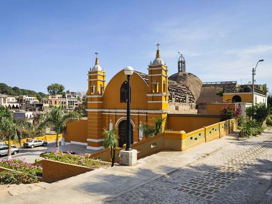 The oldest church in Lima