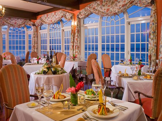 Oleander Room restaurant at Sandals Montego Bay